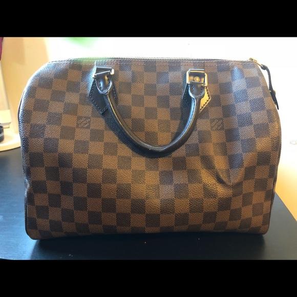 b093ab7892 Louis Vuitton Handbags - Damier Ebene Speedy 30